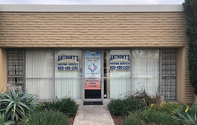 Anthonys Storefront